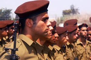 WESTERN NEGEV, ISR - JULY 07:Israeli soldiers on July 07 2006.IDF is one of Israeli society's most prominent institutions, influencing the country's economy, culture and political scene.
